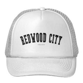 Redwood City Trucker Hat