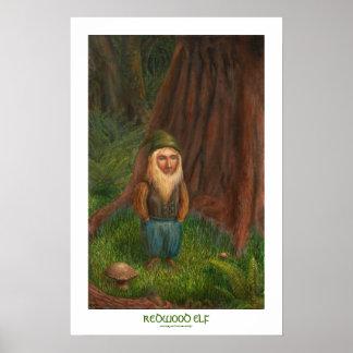 """Redwood Elf 16"""" x 24"""" Poster"""
