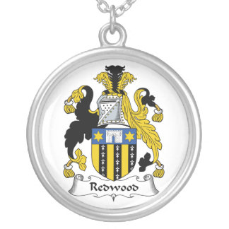 Redwood Family Crest Necklace