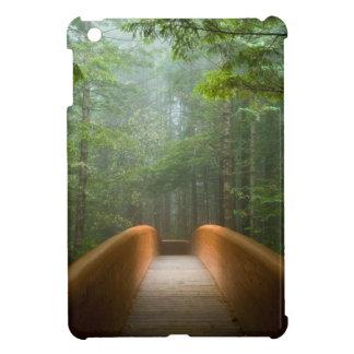 Redwood Forest Bridge iPad Mini Cover