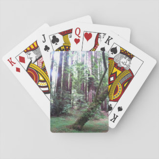 Redwood Forest Playing Cards