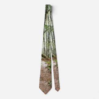 Redwood Forest Woods Leaves Trees Hiking Tie
