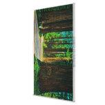 Redwood Highway in Humboldt State Redwood Park Stretched Canvas Print