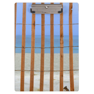 redwood lathe fence beach background clipboard