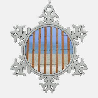 redwood lathe fence beach background ornament