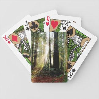 Redwood Morning Bicycle Poker Cards