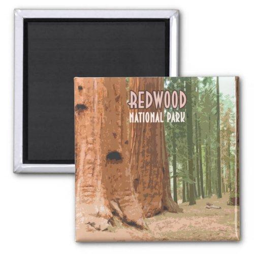Redwood National Park California Magnet