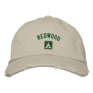 Redwood National Park Embroidered Hats