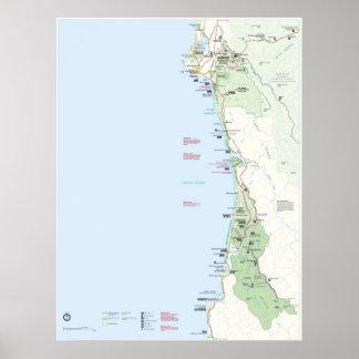 Redwood National Park Poster