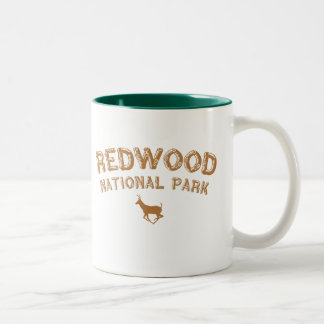 Redwood National Park Two-Tone Coffee Mug