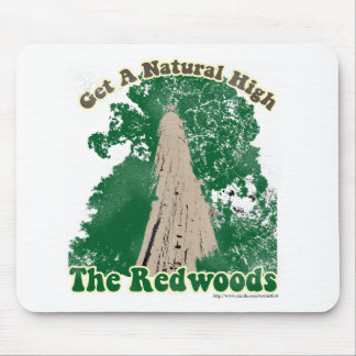 Redwood Natural High Mouse Pad