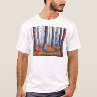 Redwood Original Painting, California Trees T-Shirt