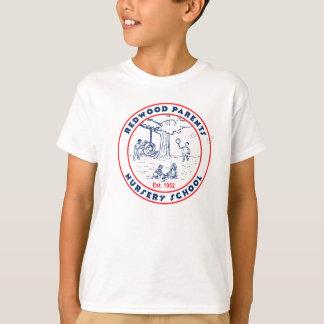 Redwood Parents Nursery School Light Apparel T-Shirt