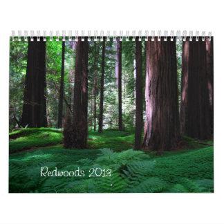 Redwood State Parks Calendar