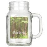 Redwood Trees at Muir Woods National Monument Mason Jar