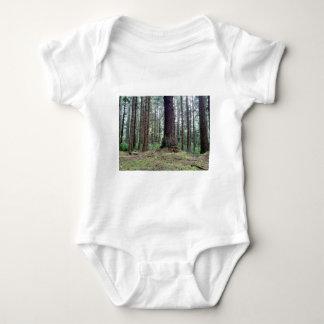 Redwood Trees Baby Bodysuit