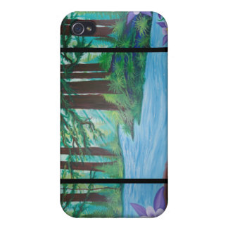 Redwood Trees by Dana Tyrrell iPhone 4 Cover