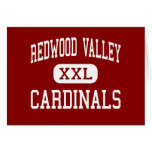 Redwood Valley - Cardinals - Redwood Falls Greeting Card
