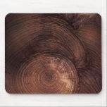 """Redwood Wood Grain Mousepad<br><div class=""""desc"""">A gorgeous detailed Sequoia Redwood graces this mouse pad.</div>"""