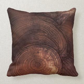 Redwood Wood Grain Pillow