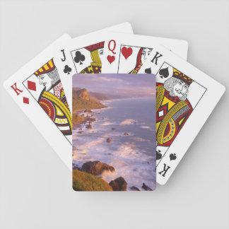 Redwoods coastline, California Playing Cards