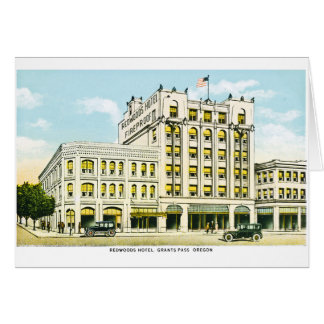 Redwoods Hotel, Grants Pass, Oregon Card