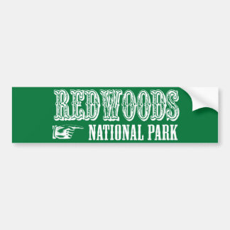 Redwoods National Park Bumper Sticker
