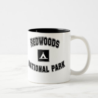 Redwoods National Park Two-Tone Coffee Mug