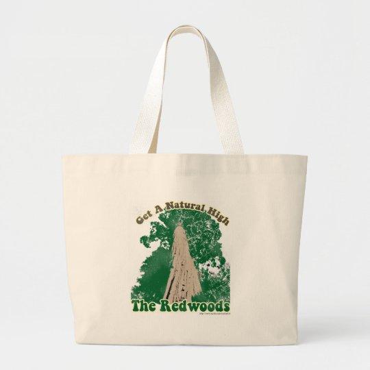 Redwoods Natural High Large Tote Bag