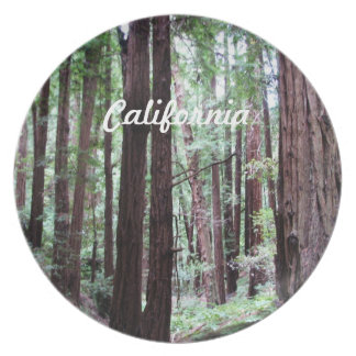 Redwoods Plate