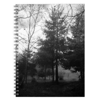 Redwoods Series #1: Hazy Morning Spiral Notebook