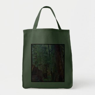 Redwoods Series #2: Through the Trees Grocery Tote Bag