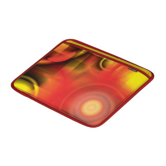 """RedYellow Abstract 13"""" MacBook Air Sleeve"""
