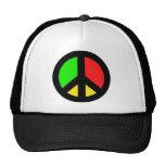 Redyellowgreen Peace Hats
