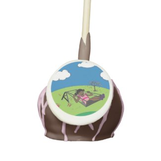 Ree Ree and The Swing Cake Pop Cake Pops