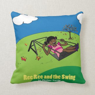Ree Ree and the Swing Pillow