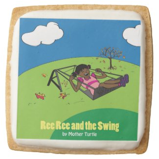 Ree Ree and the Swing Shortbread Square Shortbread Cookie