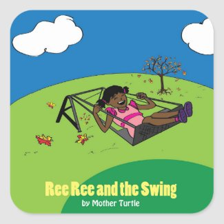 Ree Ree and the Swing Sticker