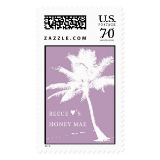 Reece and Hone Mae Palm Tree Stamp
