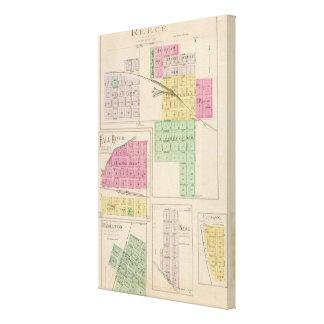Reece, Fall River, Hamilton, and Climax, Kansas Canvas Print