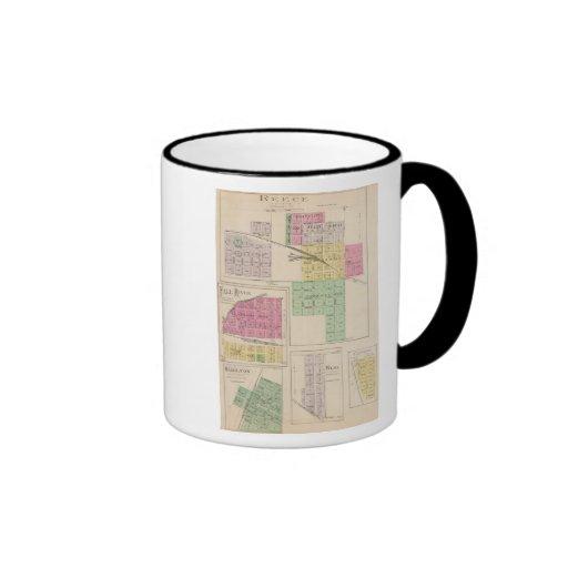 Reece, Fall River, Hamilton, and Climax, Kansas Coffee Mug