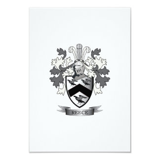 Reece Family Crest Coat of Arms Card