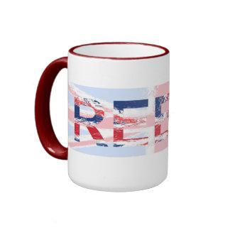 Reece, Union Jack, taza conocida
