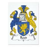 Reed Family Crest Custom Invite