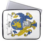 Reed Family Crest Laptop Sleeves