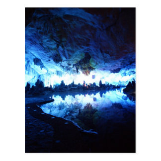 Reed Flute Caves, China, Postcard