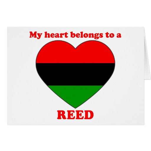 Reed Greeting Cards