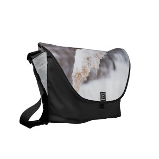 reed in snow messenger bags