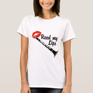 Reed My Lips Clarinet T-Shirt