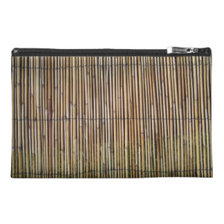 Reed pattern travel accessory bags